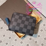 Louis vuitton zippy coin purse wallet damier grafite งานHiend 1:1