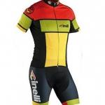 **พรีออเดอร์**ชุดปั่นจักรยาน (เสื้อแขนสั้น+กางเกงขี่จักรยาน)cinelli