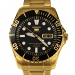 นาฬิกา SEIKO 5 Sport Automatic Gold SNZF22J Japan Made