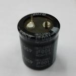 C 100UF450VDC 85C คาปาซิเตอร์อิเลคโครไลท์CAPACITOR ELECTROLYTIC VDC