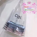 Celine transparent pvc shopping bag
