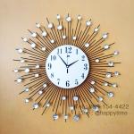 นาฬิกาติดผนัง รุ่นรัศมีพลอย ไซส์ 60 CM.