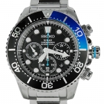 นาฬิกา Seiko Men Chronograph Solar System Diver 200m seiko ssc017P สาย Stainless Coke