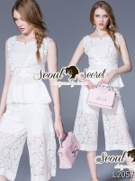 Seoul Secret Say's... Lacey V Pricess Lace set