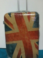 กระเป๋าเดินทางล้อลาก 28 นิ้ว ลายธงชาติอังกฤษ