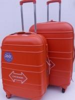 กระเป๋าเดินทาง ขนาด 25 นิ้ว ยี่ห้อ HIPOLO ของแท้ สีส้มสด