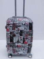 กระเป๋าเดินทาง PC ลายตู้ไปรษณีย์ ล้อหมุน 360 องศา ขนาด 20นิ้ว