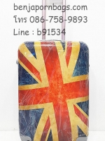 กระเป๋าเดินทาง PC ลายธงชาติอังกฤษ ไซส์ 24 นิ้ว