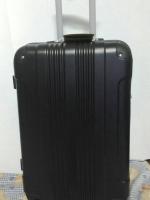 กระเป๋าเดินทาง Fiber ไซส์ 24 นิ้ว สีดำมุมดำ