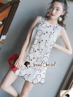 Clasper Rosy Lace Dress