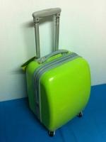 กระเป๋าเดินทางน่ารักๆ 16 นิ้ว 4 ล้อ สีเขียวอ่อน น้ำหนักเบา