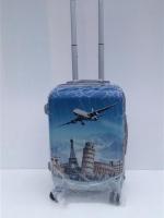 กระเป๋าเดินทาง ขนาด 24 นิ้ว ลายเครื่องบิน