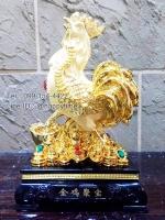 ไก่ทองคำ บนกองเงินกองทอง มั่งมีศรีสุข