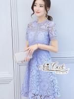 Aris Code Lady Bright Lace Dress
