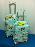 กระเป๋าเดินทางน่ารัก ลายน้องหมี ไซส์ 24 นิ้ว