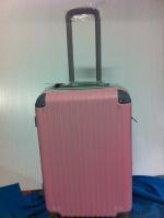 กระเป๋าเดินทาง ทูโทน สีสวย ขนาด 20 นิ้ว สีชมพู