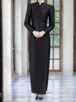 พร้อมส่งชุดไทยจิตรลดาสีดำ สำหรับสาวอวบ++ Size 3XL