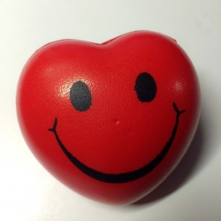 บอลบีบบริหารมือ รูปหัวใจ