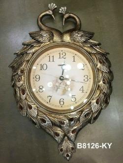 นาฬิกาแขวนติดผนังแต่งบ้าน รูปหงส์คู่