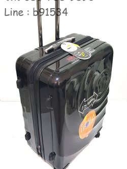 กระเป๋าคันชักคู่ Hipolo 1174 สีดำ 4 ล้อลาก 28 นิ้ว