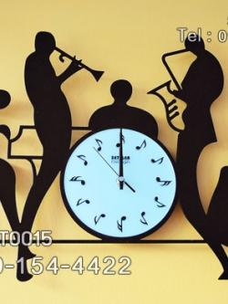 นาฬิกาติดผนัง ชุดวงดนตรีคลาสสิค ของตกแต่งบ้านเก๋ๆ