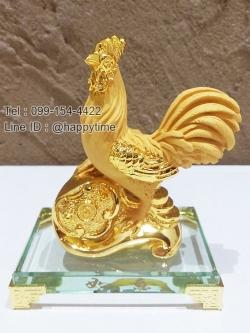ของขวัญมงคลวันขึ้นปีใหม่ ไก่ทองเหยียบเหรียญ
