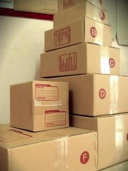 กล่องไปรษณีย์ฝาชน สำหรับลูกค้าสบู่พรทิน่า ไซส์ 0