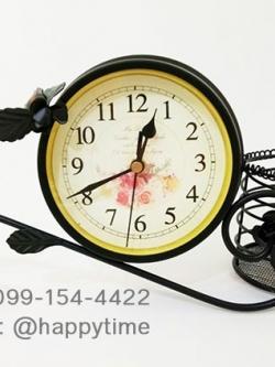 นาฬิกาตั้งโต๊ะไม่เหมือนใคร รุ่นนกกิ่งไม้ดำ