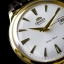 Orient Automatic White Dial Gold Tone Leather Strap FER24003W thumbnail 1