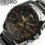 Seiko Chronograph SNDD Black (สาย Stainlss) SNDD65P สายรมดำ thumbnail 1
