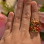 แหวนพญานาคราชหน้าเกี้ยว ประดับพลอย thumbnail 6