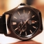 Orient Automatic Gold and rose gold Leather Watch Orient ET0R002B thumbnail 1