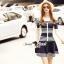 Seoul Secret Say's... Chic Stripy Knitty Dress thumbnail 4