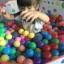 ลูกบอล พลาสติกอย่างดี คละสี 100 ชิ้น thumbnail 1