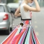 Seoul Secret Say's... Lollita Pleatly Color Flora Print Dress thumbnail 4