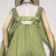 vintage dress : เดรสวินเทจยาวกรุยกราย ด้านหลังเก๋มากๆ สีโทนเขียวเหลือง ผ้าชีฟองเนื้อดี thumbnail 4