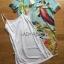 Lady Jennifer Casual Vivid Color Mix Printed Chiffon Dress สีฟ้า thumbnail 7
