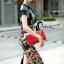 Cliona made' DG Marco Polo Adventure Luxury Printing Dress thumbnail 4