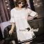 Seoul Secret Say's... Bell Sleeve Nifty Lace Dress thumbnail 4