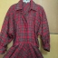 Vintage dress : เดรสเชิ๊ตลายสก๊อต แพทเทิร์นเข้ารูป แขนยาว มีกระเป๋าข้าง thumbnail 2