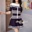 Seoul Secret Say's... Chic Stripy Knitty Dress thumbnail 1