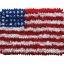 พรมเช็ดเท้า แฟนซี ลาย ธงอเมริกา L thumbnail 1
