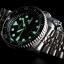 นาฬิกา Seiko Automatic Black Diver Watch 200m SKX007K Jubilee Strap thumbnail 2