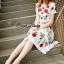 Petite rose print dress by Sweet Bunny thumbnail 2