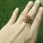 แหวนถมทอง ลายสุโขทัย ทรงหยดน้ำ thumbnail 3