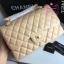 Chanel classic flap jumbo สีครีม งานHiend Original thumbnail 2