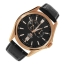 Orient Automatic Gold and rose gold Leather Watch Orient ET0R002B thumbnail 4