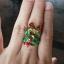 แหวนพญานาคราชหน้าเกี้ยว ประดับพลอย thumbnail 5