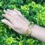สร้อยข้อมือ ลายสุโขทัย ประดับพลอย ขนาดใหญ่ thumbnail 2