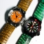 Green Genuine Leather Back Lizard Leather Watch Strap Pam Buckle 24/20 mm thumbnail 9
